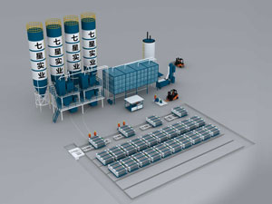 QX Composite Polyphenyl Granule Wallboard Production Line