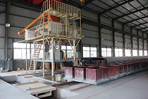 QX Grade A Fire Proof Foamed Cement Insulation Wallboard Production Line